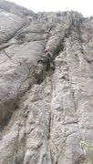 Rock Climbing Photo: Mike on Ex Poser