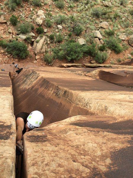 Rock Climbing Photo: Me Baker