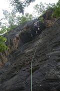Rock Climbing Photo: Katie on Magmasqitos