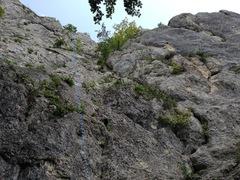 Rock Climbing Photo: Start of first pitch