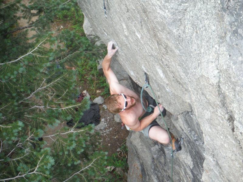 Fun little crag.