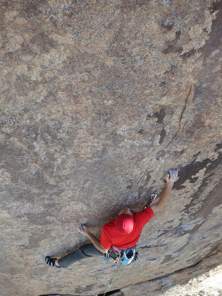 """Rock Climbing Photo: Sustained, brilliant face climbing on """"Game o..."""