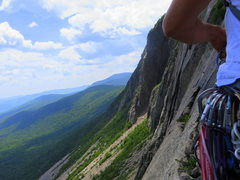 Rock Climbing Photo: Cannon Cliff, NH