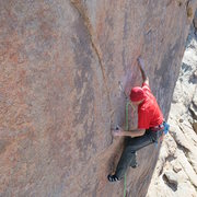 Rock Climbing Photo: Technical movement on Game of Drones - 12d.