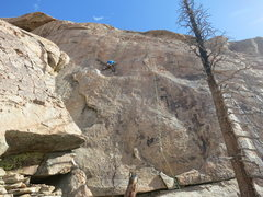 Rock Climbing Photo: Game of Drones - 12d. While Shaun is climbing the ...