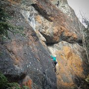 Rock Climbing Photo: Center Lane Closed/Stonemaster start
