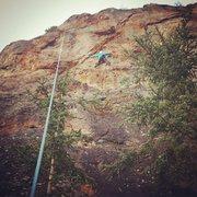 Rock Climbing Photo: Center Lane Closed