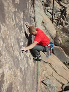 Rock Climbing Photo: You'll need to mind your footwork to have any hope...