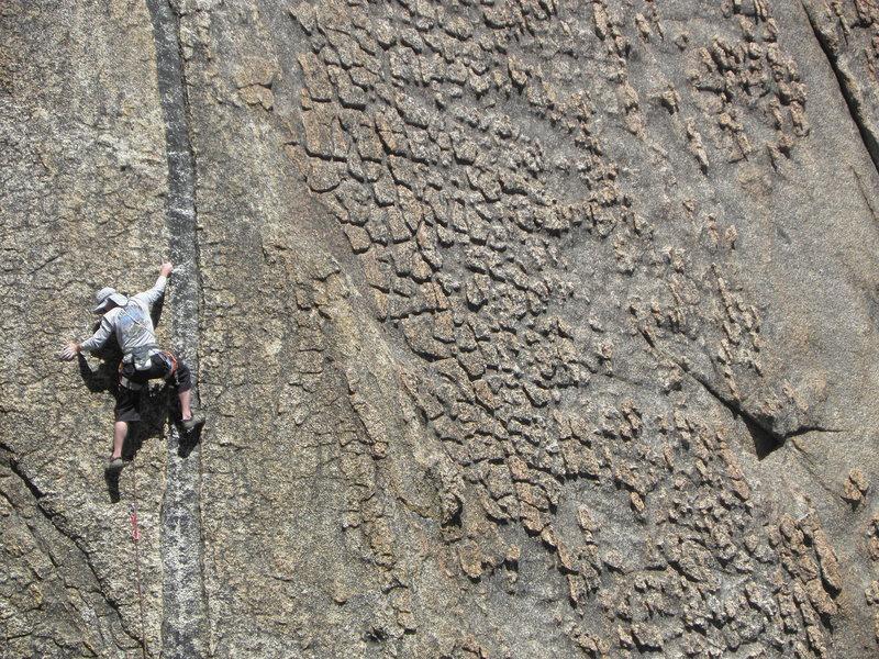 Super cool climb;  Sunset Shaman