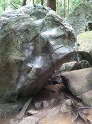 Rock Climbing Photo: black mark