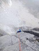 Rock Climbing Photo: Mr. Palo on Let it Burn.