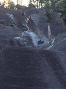 Rock Climbing Photo: Climbers on pitch 2