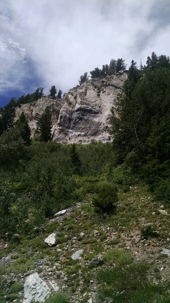 The Melting Mud Wall from the road.