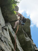Rock Climbing Photo: The usual tribute to Dick Williams on Shockley's C...