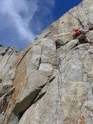 Rock Climbing Photo: Matt on the wet season waterfall bypass after cros...