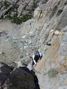 Rock Climbing Photo: Dave on the first part of the wet season bypass