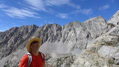 Rock Climbing Photo: Matt scoping out the path forward