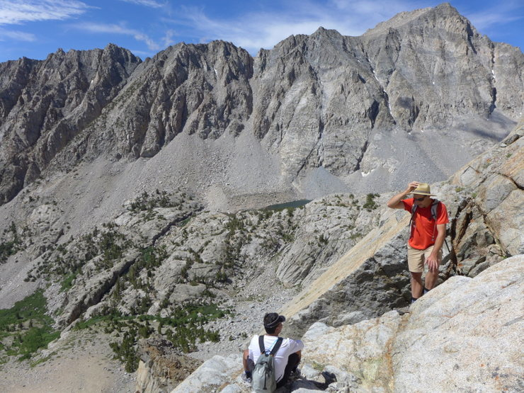 Rock Climbing Photo: Dave demonstrating text book symptoms of Flatlande...