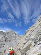 Rock Climbing Photo: great cloud formations today
