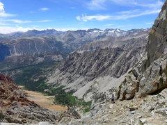 Rock Climbing Photo: brief hiking bit before more scrambling