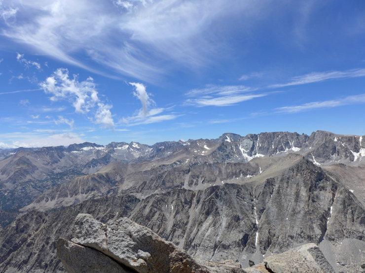 Rock Climbing Photo: view toward Evolution range