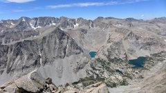Rock Climbing Photo: the many lakes along Paiute Pass trail as it heads...