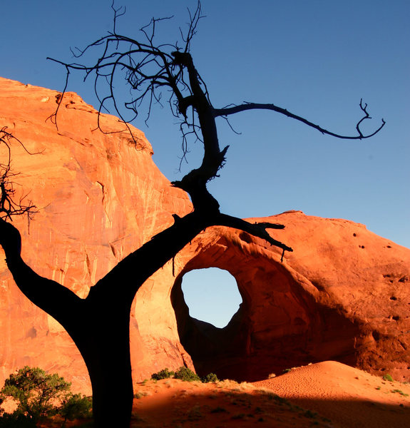 Ear of the Wind arch.<br> <br> Benjamin Mackall Photography