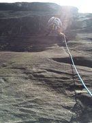 Rock Climbing Photo: Placing first cam, i believe it was a purple bd ca...