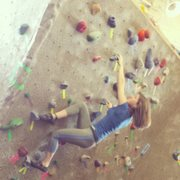 Rock Climbing Photo: Bouldering in the gym.