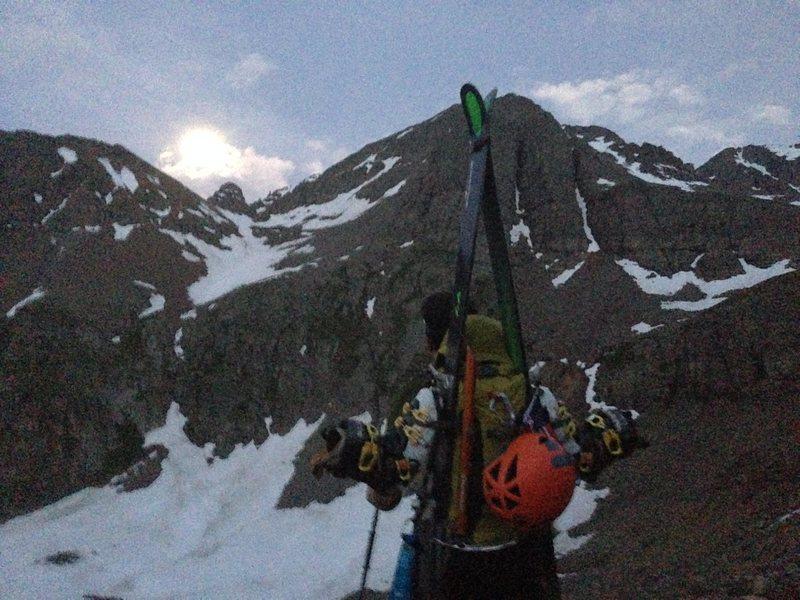 Rock Climbing Photo: alpine start