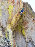 Rock Climbing Photo: Me leading Interceptor. Photo credit: Dana Prosser...