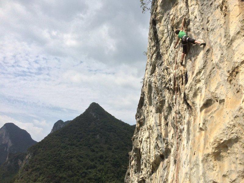 Rock Climbing Photo: Getu, China