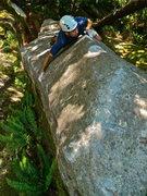 Rock Climbing Photo: MIchal Rynkiewicz having fun