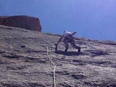 Rock Climbing Photo: Chalking up.
