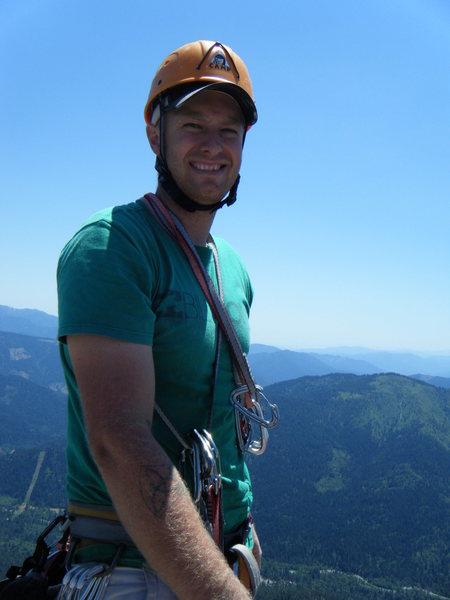 Rock Climbing Photo: climbing castle crags Mt.  Hubris