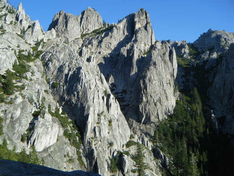 Rock Climbing Photo: castle crags