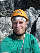 Rock Climbing Photo: selfie top of Mt. Hubris