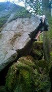 Rock Climbing Photo: Over the top