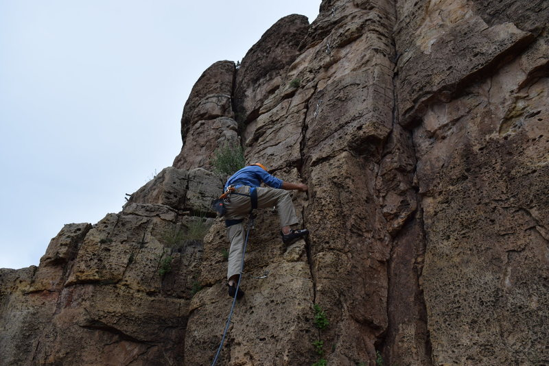 Chill climb!