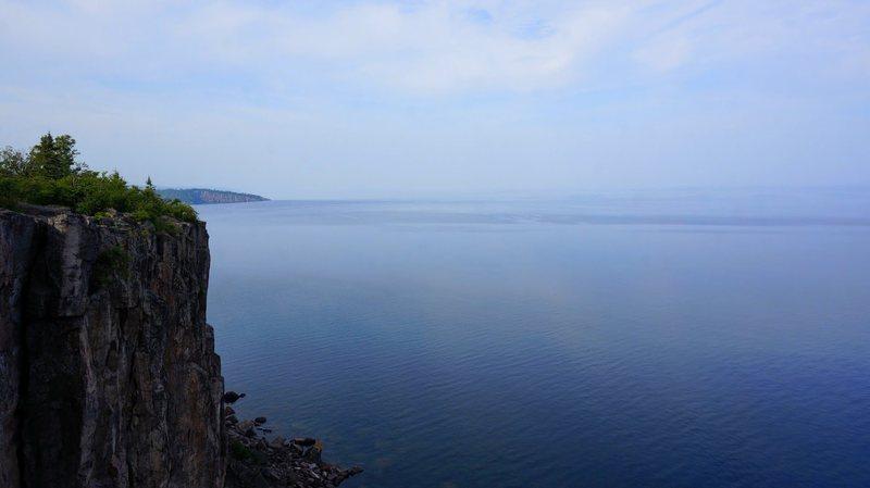 Rock Climbing Photo: Palisade Head looking towards Shovel Point