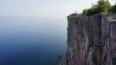 Rock Climbing Photo: Palisade Head looking South