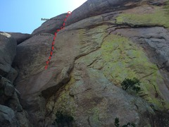 Rock Climbing Photo: West face