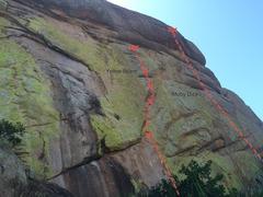 Rock Climbing Photo: West face 2