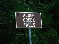 Rock Climbing Photo: Alder Creek Falls...mile 2.4