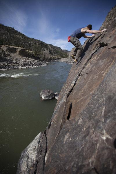 Rock Climbing Photo: Early Bird boulder