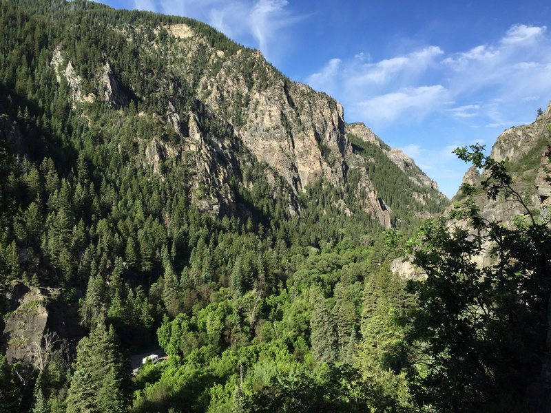 Rock Climbing Photo: AF canyon from Hard Rock Crag Photo Cred: Tiffany ...