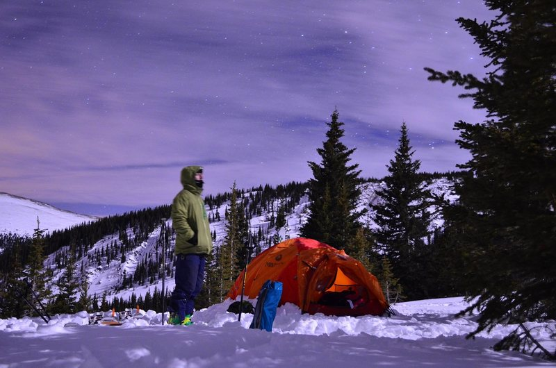 Midweek Ski night on Berthoud Pass