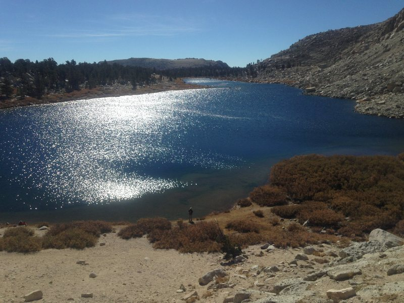 Rock Climbing Photo: One of the Cottonwood lakes
