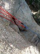 Rock Climbing Photo: Master point