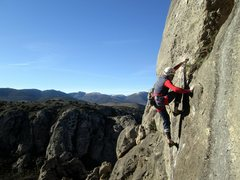 "Rock Climbing Photo: Bombi, escalando ""El Rey de los invertidos&qu..."